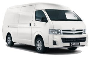 Toyota Quantum High Roof Panel Van