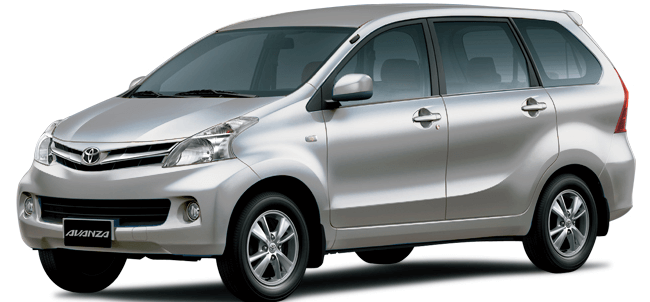 Rent A Toyota Avanza 7 Seater