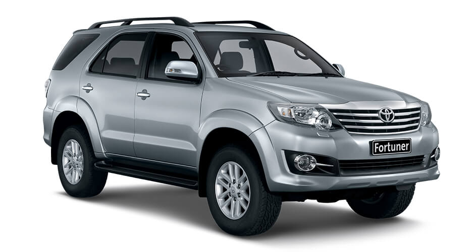 Toyota Fortuner Hire | Pace Car Rental