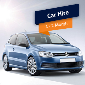 1-2 Month Car Rental