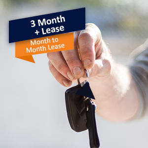 3 Month + Vehicle Lease
